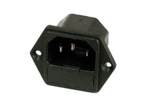 Chassiemontage med säkringshållare, 230V