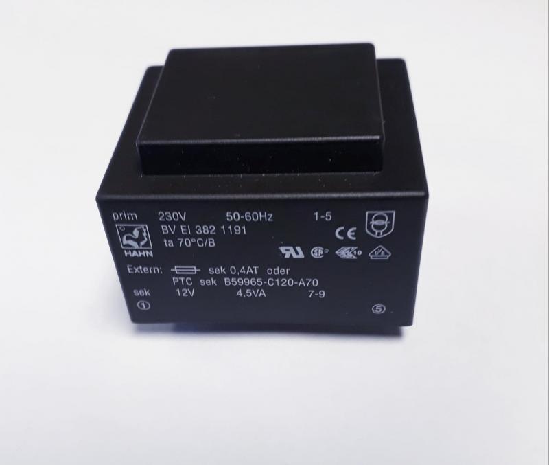 Transformator 230V primär 12V sekundär