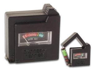 Batteriprovare i fickformat