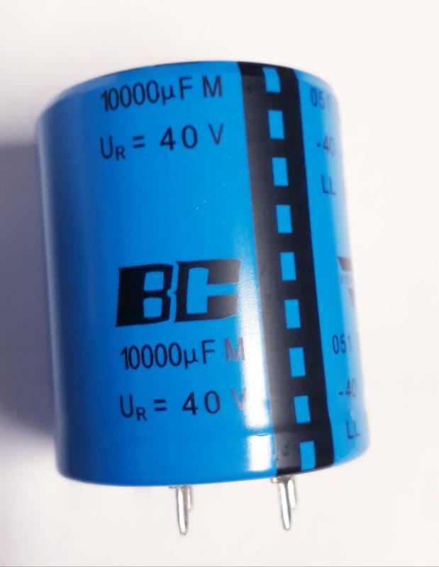 Kondensator 10000uF 40V