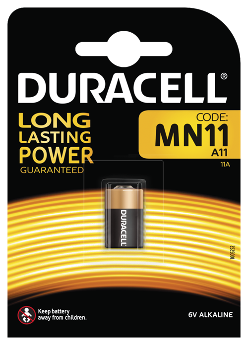 MN11 A11 Batteri, 1-Pack, long-life, silver