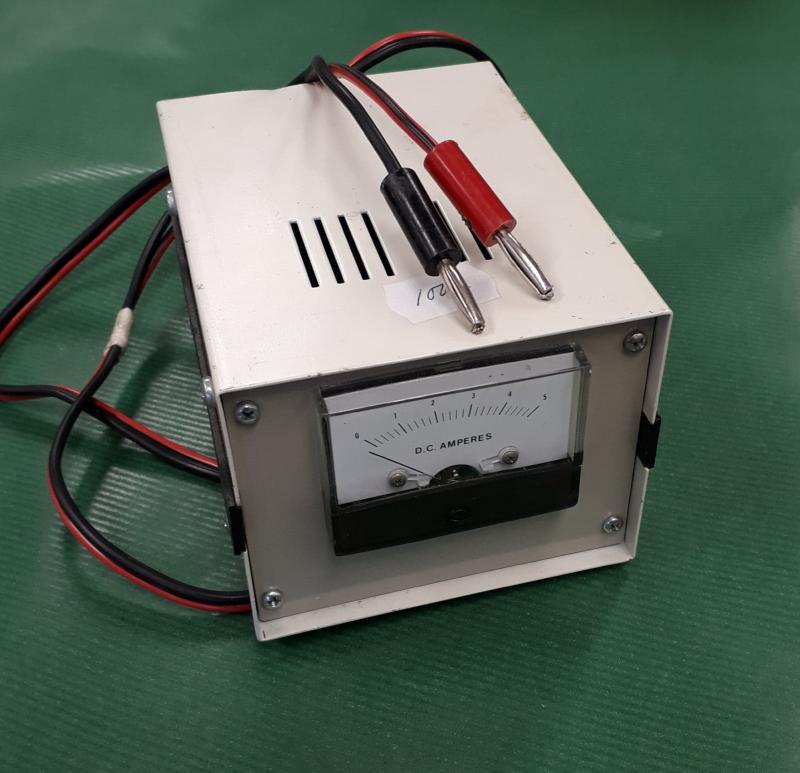 Ampermätare 0 - 5Vdc