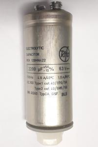 Kondensator 2200uF 63V elektrolyt