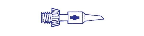 Lödspets 2,4mm för Gaslödkolv Portasol