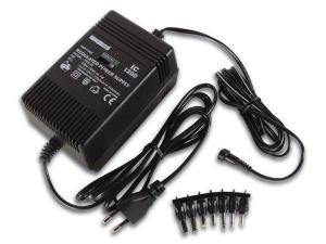 Nätaggregat / Batterieleminator   3-6-9- 12V DC 1200mA
