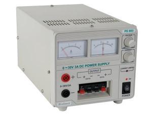 Nätaggregat 0-30V 2,5A Analoga Instrument