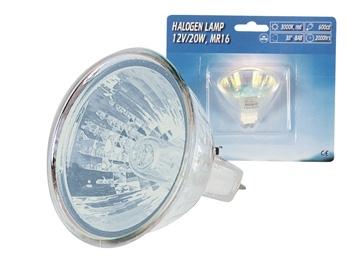 Halogenlampa 12V 20W MR-16, Blå