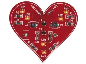 Blinkade hjärta, SMD, MK144