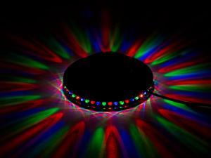 Magisk stjärna med LED.