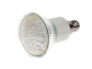 LED-Lampa Vit, E14 18 LEDs
