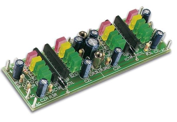 Dubbel Stereo VU-meter. K2668