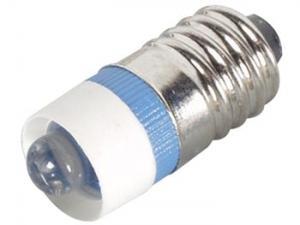 LED-lampa E10 5mm 12V, blå
