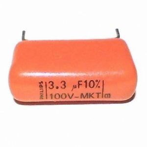3,3uF 100V, Philips,  2 pack