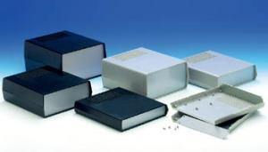 Plastlåda TEKO med aluminiumfront och ventilation
