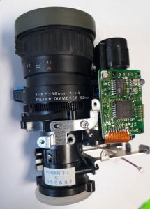 Reservdel Videokamera-optik