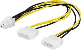 Strömadapter,  till PCI-Express