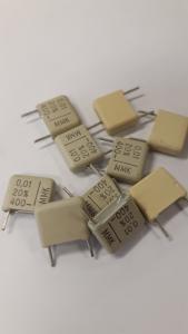 Kondensator 0.01uF polyester  400V