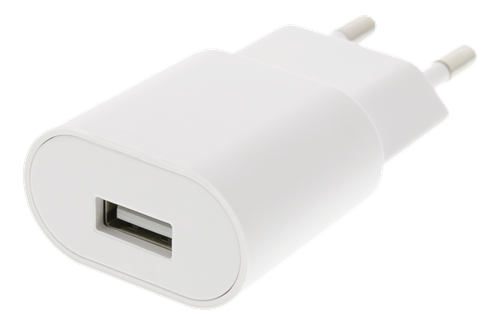 Väggladdare USB 1A 5W