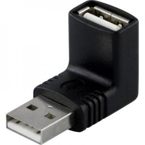 USB adapter, Han - Hon, vinklad