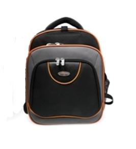 Ryggsäck för notebook, Svart-Grå-Orange