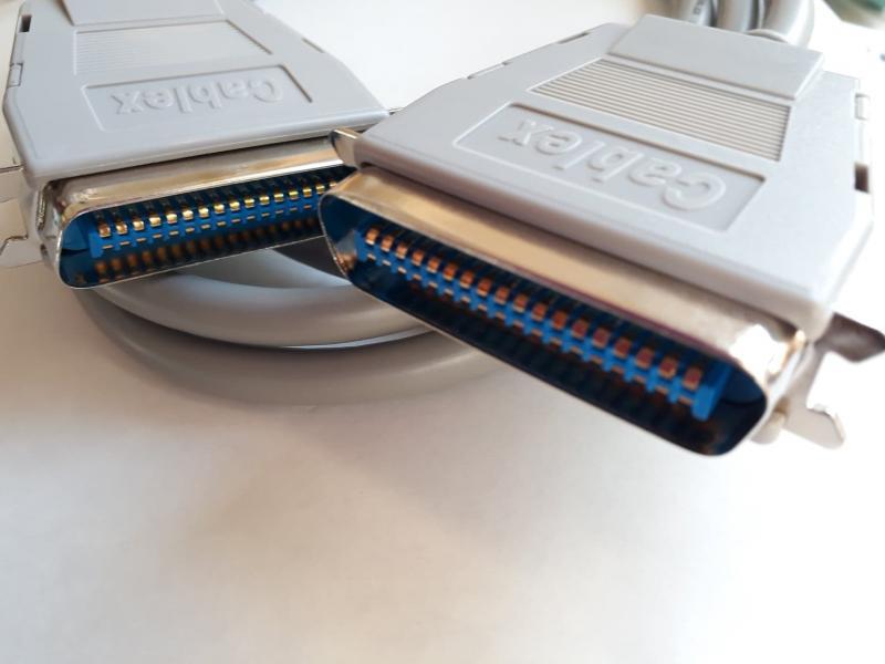 Printerkabel parallell C36M - C36M  1,8 Meter
