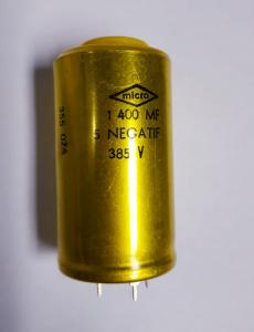 Kondensator 1400 uF 385V Negatif