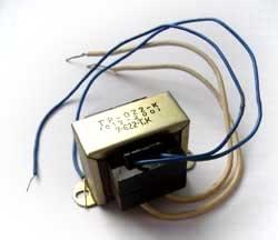 Transformator 6,5V, 230V Primär