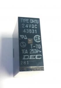 Relä DH1U 24VDC 10A  4 poligt