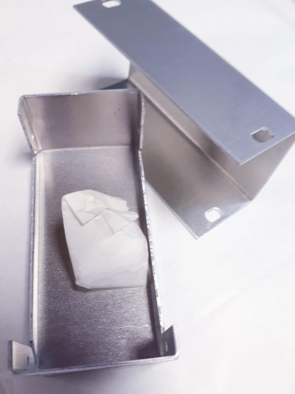 Aluminiumbox LBH 37 x 72 x 28mm