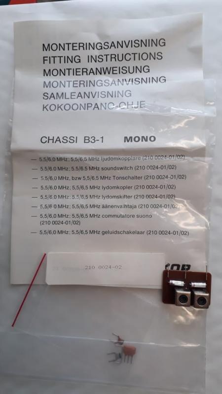 Ljudomkopplare LUXOR NOS ( B3-1 Chassie )