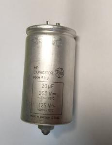 Kondensator 20uF 250V RiFA