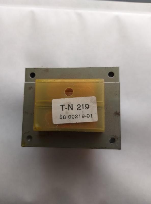 T-N 219 Nättrafo 9V & 15V
