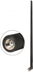 WLAN Antenn, RP-SMA ha, 9dBi, 2,4GHz, rundstrålande, 50 Ohm, svart