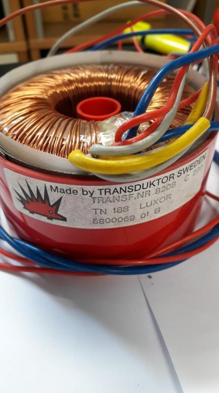 Ringkärnetransformator TN 188 LUXOR