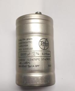 Kondensator 6800uF 63V elektrolyt