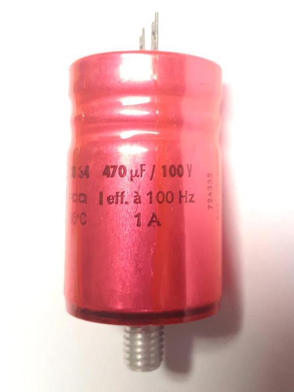Kondensator 470uF 100V