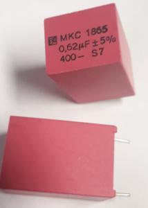 Kondensator polyester  0,62uF