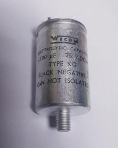 Kondensator 4700uF 25V