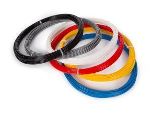 ABS Filament 1,75 till skrivare och penna, 6 färger a´ 50g