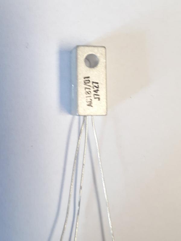 AC187/01 Germanium transistor NOS