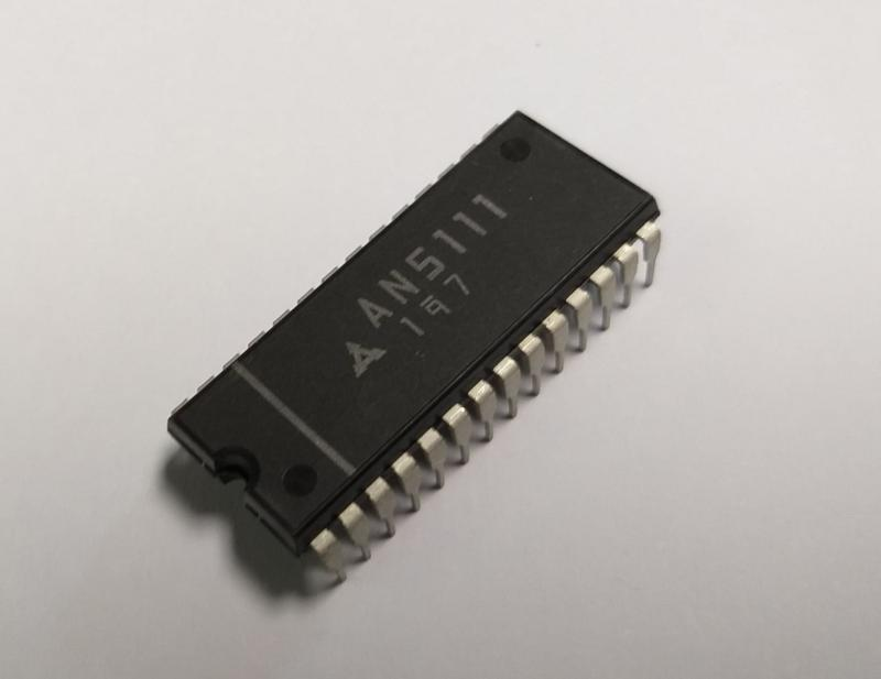 AN5111 ,  Color TV video IF amplifier, detector, AGC and AFC