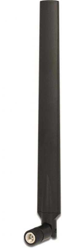 Antenn RP-SMA ha, 4-7 dBi, 2,4/5GHz, rundstrålande