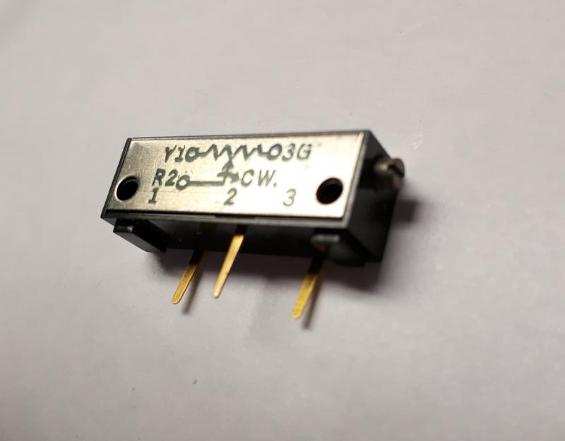 Trimpot 5067P 10168, ATHOM electronics military products, NOS