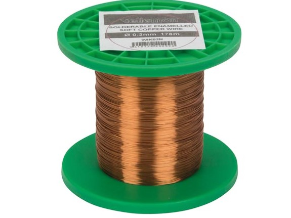 Emaljerad koppartråd 0,20mm