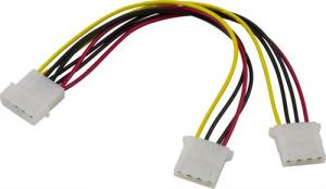 Molex 4 pin Y-kabel