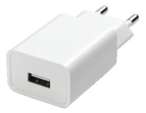 Väggladdare USB 2,4A 5V 12W