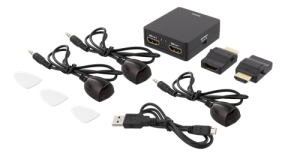 HDMI-splitter, 1 in och 2 ut