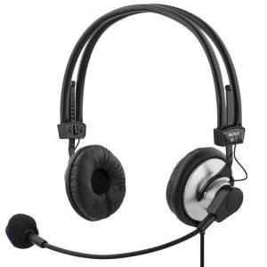Hörlurar med vrid och böjbar mikrofonarm