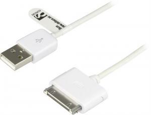 USB Laddnings-/datakabel  till iPhone och iPod 1 Meter