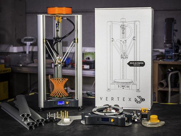 3D printer Vertex Delta och startsett